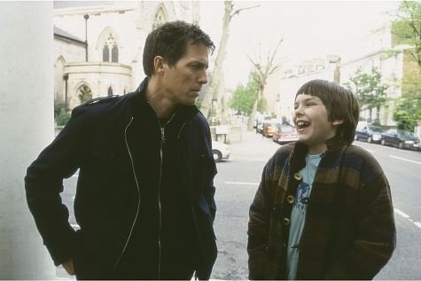 Hugh Grant and Nicholas Hoult in About a Boy