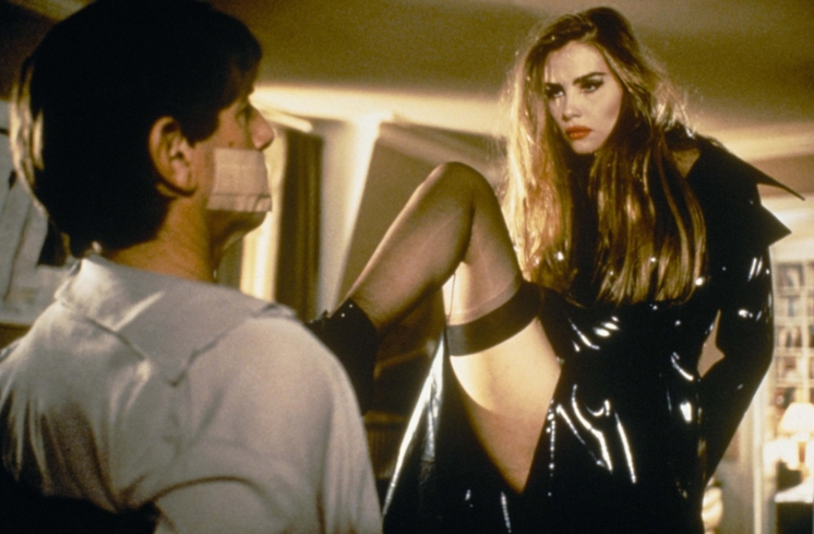 Emmanuelle Seigner and Peter Coyote in Bitter Moon