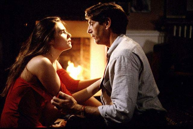 Peter Coyote and Emmanuelle Seigner in Bitter Moon (Photo by © 1992 New Line Cinema)