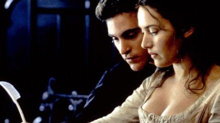 Kate Winslet and Joaquin Phoenix in Quills (Photo by © 2000 - Fox Searchlight Pictures)