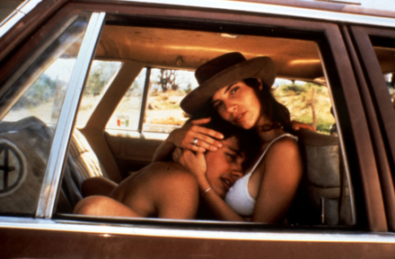 Gael García Bernal and Maribel Verdú in Y Tu Mamá También (Photo by © Metro-Goldwyn-Mayer Studios Inc.)