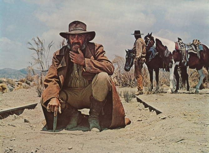 Jason Robards in Once Upon a Time in the West