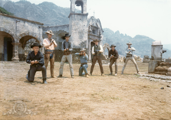 A scene from The Magnificent Seven
