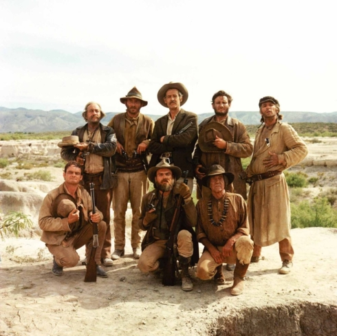 William Holden and Ernest Borgnine star in The Wild Bunch