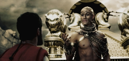 King Leonidas in 300 (Photo © 2007 Warner Bros. Entertainment Inc.)
