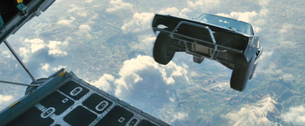 A scene from Furious 7