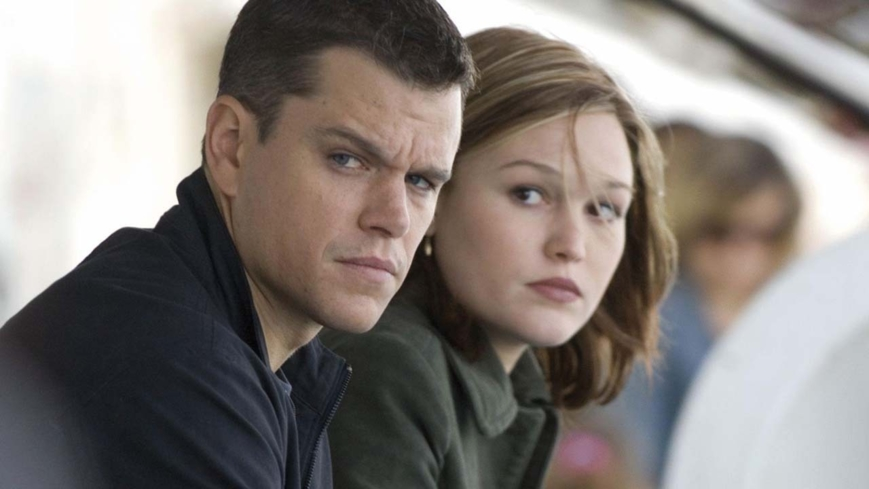 Matt Damon and Julie Stiles star in The Bourne Ultimatum