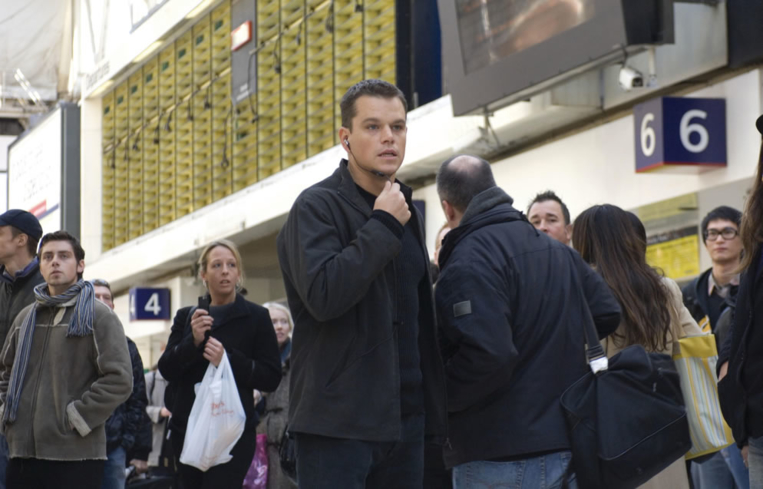 Matt Damon in The Bourne Ultimatum (Photo by © Universal Pictures)