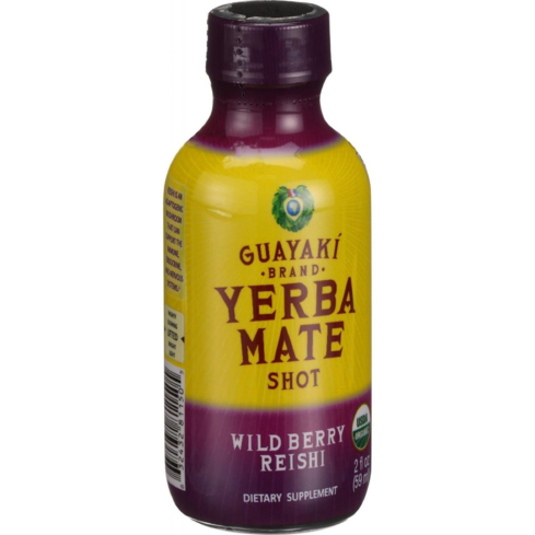 Natural, organic Guayaki Yerba Mate energy shots will keep your body fueled with energy all day long without the crash