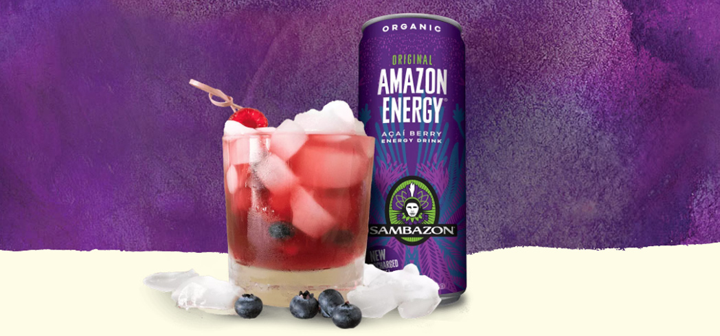 Sambazon Amazon Energy comes in a variety of flavors including acai berry