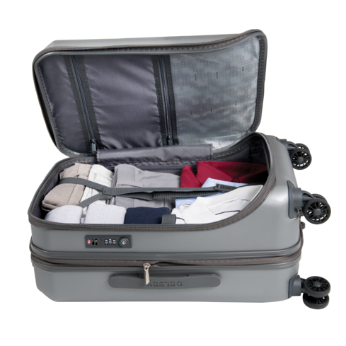 Delsey's Shadow 3.0 Carry-on Expandable Spinner Suiter Trolley