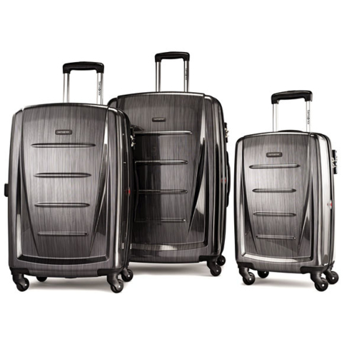 Samsonite's Winfield 2 Fashion Spinner has a polycarbonate shell that makes it impact-resistant