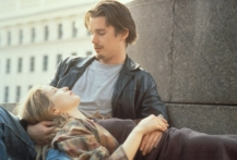 Ethan Hawke and Julie Delpy in Before Sunrise (Photo by Hulton Archive/Getty Images - © 2013 Getty Images)