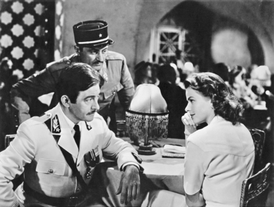 A scene from Casablanca (Photo by Deutsche Kinemathek)