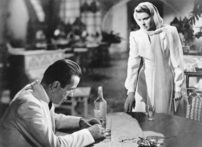 Rick and Ilsa in Casablanca (Photo by Deutsche Kinemathek)