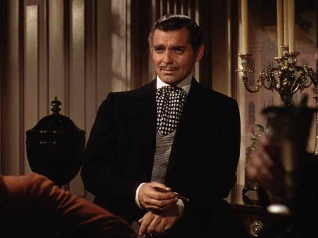 Clark Gable plays the role of Rhett Butler in Gone with the Wind (Photo by New Line Cinemas)
