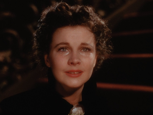 Actress Vivian Leigh plays the role of Scarlett O'Hara in Gone with the Wind (Photo by New Line Cinemas)