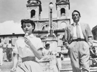 Audrey Hepburn and Gregory Peck star in Roman Holiday (Photo © 1953 Paramount)