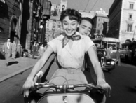 A scene from the classic romantic comedy, Roman Holiday (Photo © 1953 Paramount)