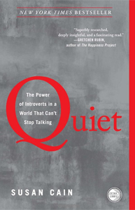 "Susan Cain explores the underappreciated value of introverts in her bestseller, ""Quiet"""