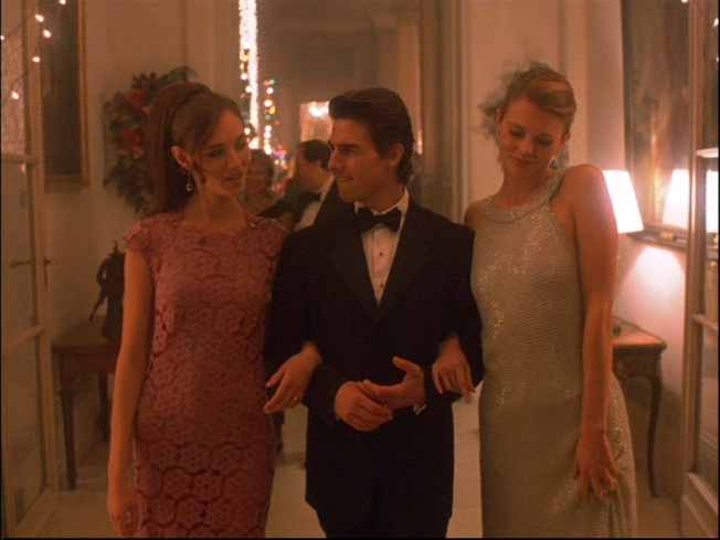 Tom Cruise plays the role of Dr. William Harford in Eyes Wide Shut.