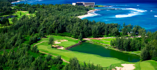 The Palmer Course at Turtle Bay Resort in Kahuku, Hawaii