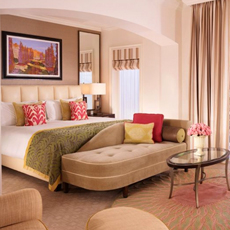 Enjoy a luxurious stay at the Beverly Hills Hilton