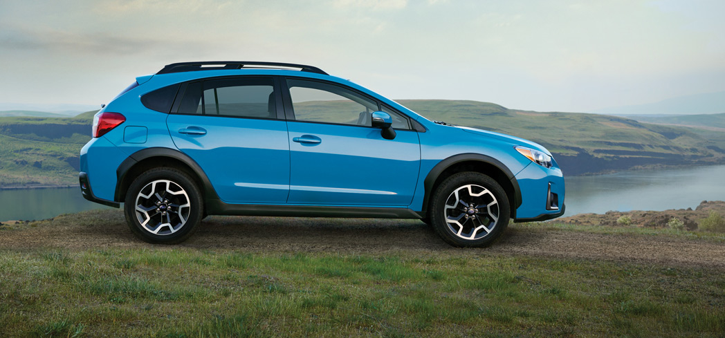 The Subaru Crosstrek, one of GAYOT's Top 10 Cars for Teenagers