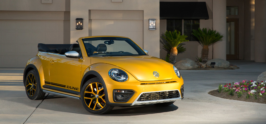 The 2016 Volkswagen Beetle Dune, GAYOT's Car of the Month for September 2016