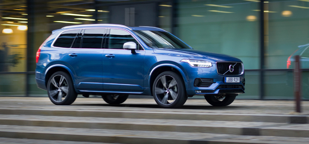 The 2016 Volvo XC90 T6, GAYOT's Car of the Month for October
