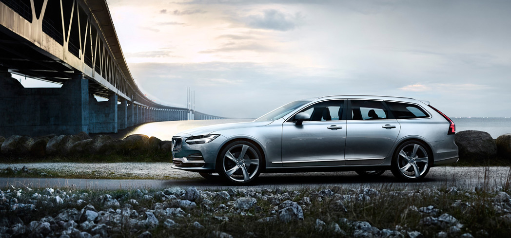The Volvo V90, one of GAYOT's Top 10 Station Wagons