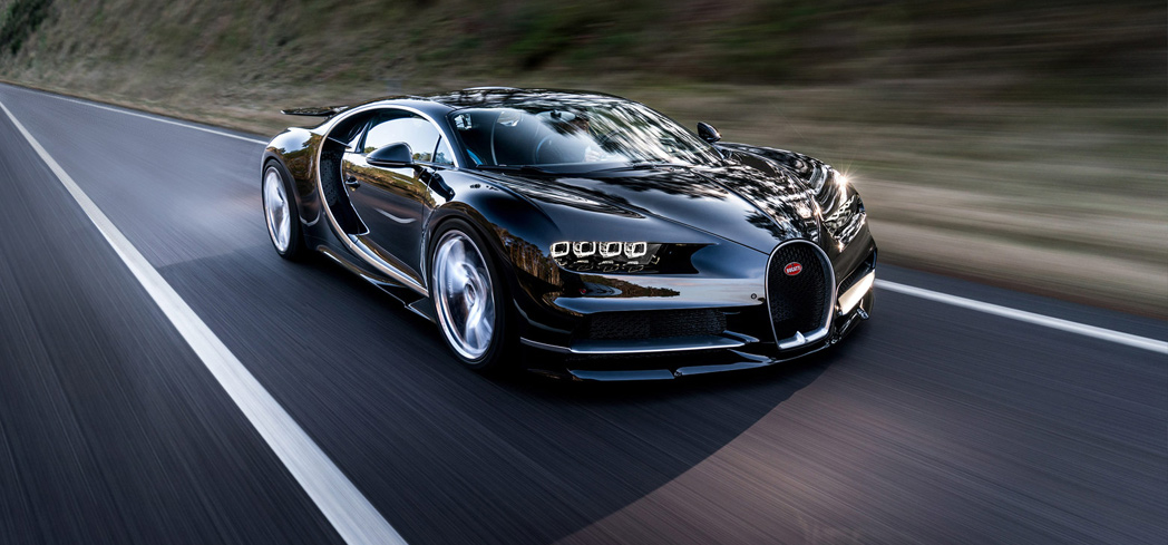 The Bugatti Chiron is a newcomer this year in the list of Top 10 Fastest Cars in the World