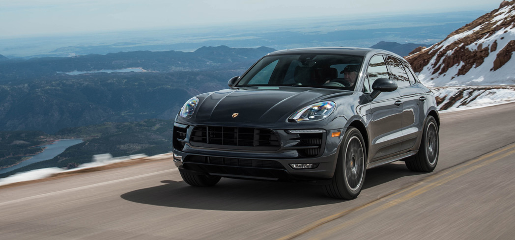 The 2017 Porsche Macan, one of GAYOT's Top 10 Small SUVs