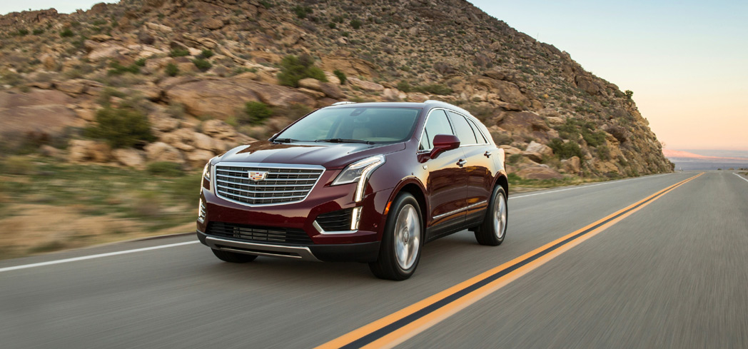 The 2017 Cadillac XT5, one of GAYOT's Top 10 SUVs