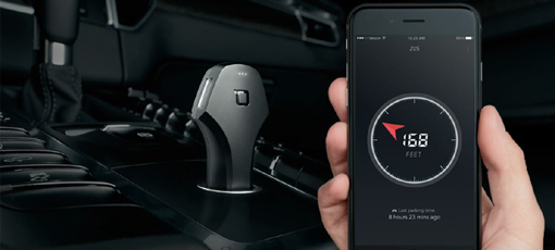 Never lose your car again with the ZUS Smart Car Finder & USB Charger
