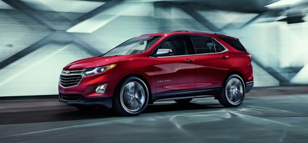The 2018 Chevy Equinox is a sculpted compact SUV