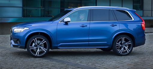 A side view of the 2016 Volvo XC90 T6 AWD R-Design
