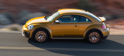 The 2016 Volkswagen Beetle Dune Buggie, one of GAYOT's Top 10 Fun-to-Drive Cars