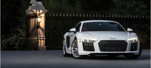 The Audi R8, one of GAYOT's Top 10 Sports Coupes