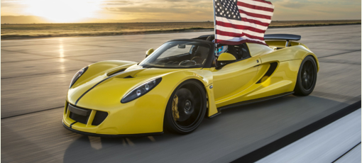 The Hennessey Venom GT is one of the fastest cars in the world right now