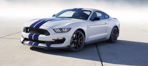 The Ford Mustang Shelby, one of GAYOT's Top 10 Muscle Cars