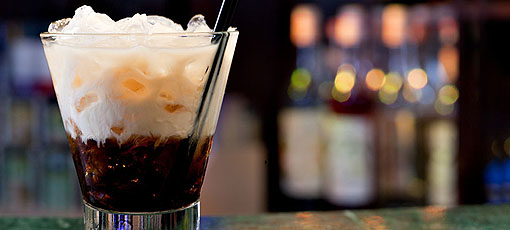 Kahlúa is the main ingredient of the classic White Russian