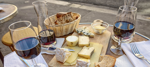 Check out GAYOT's guide on how to pair cheese with wine