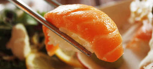 Check out GAYOT's tips for pairing sushi with wine