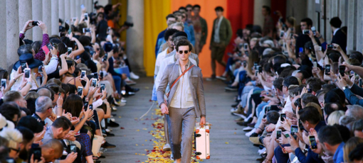 Men's fashion at Milan Fashion Week
