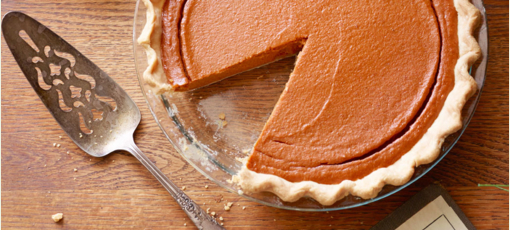 Go ahead, dig into that pumpkin pie