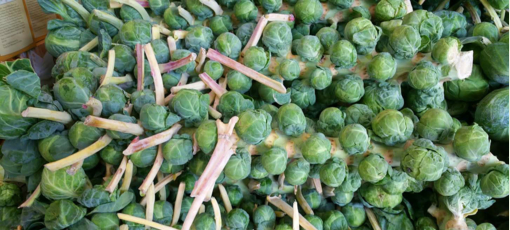 Brussels sprouts are known to promote a healthier immune system and lower blood pressure