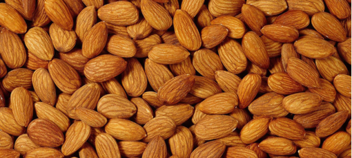 Go nutty with almonds, which have cholesterol-lowering effects