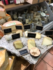 Cheeses at The Cheestore of Beverly Hills