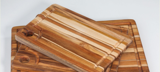 ProTeak cutting boards, one of GAYOT's Top 10 Kitchen Gadgets